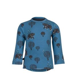 Camiseta De Manga Longa - Noeser - Airballoon - Azul