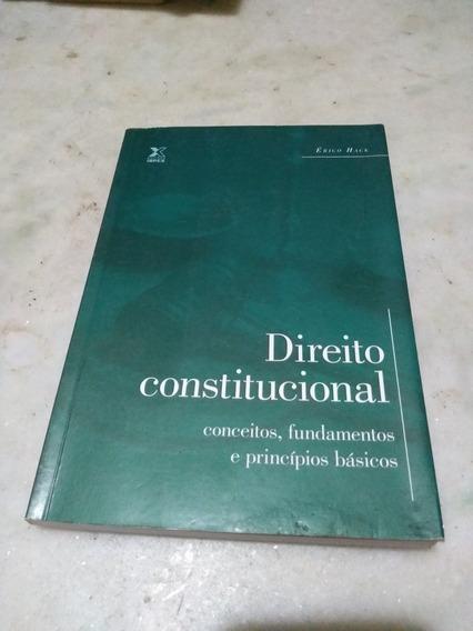 Direito Constitucional Conceitos,fundamentos E Principios...