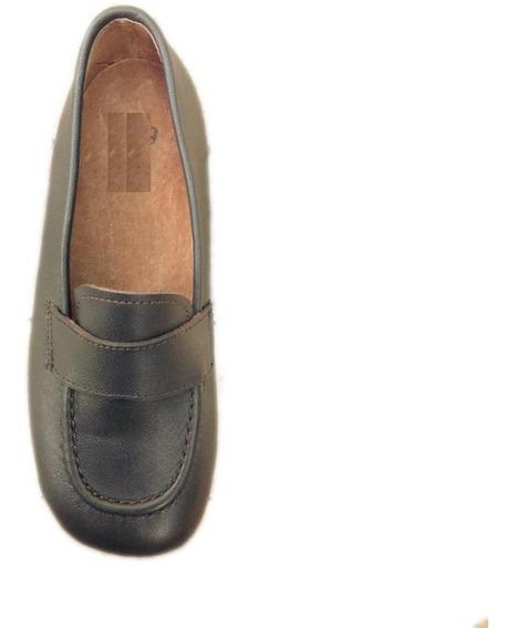 Zapato Calzado Mocasín Cuero Varón Niño Nene Clara 22 Al 26