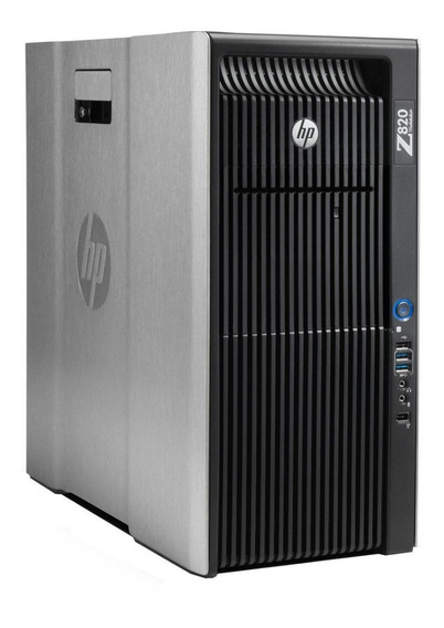 Hp Workstation Z820 Intel Xeon Sixcore 16gb Ram Ssd Sas Sata
