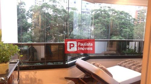 Apartamento Com 3 Dormitórios À Venda, 172 M² - Brooklin - São Paulo/sp - Ap23392