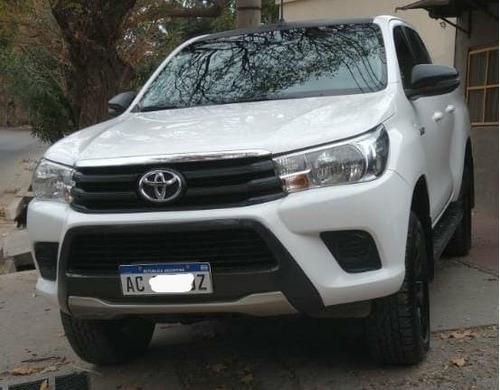 Toyota Hilux 2.4 Cd Sr 150cv 4x2 2018 Estri.cober. Gancher
