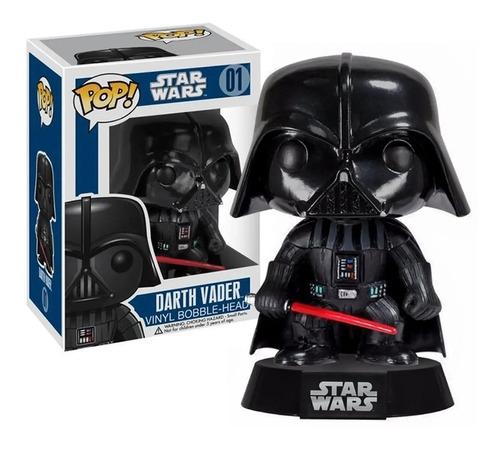 Imagem 1 de 3 de Boneco Funko Pop Darth Vader 01 Bobble-head - Star Wars