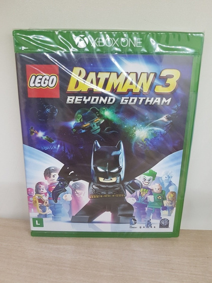 Lego Batman 3 Beyond Gotham Xbox One Mídia Física Lacrado