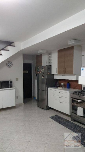 Imagem 1 de 16 de Sobrado Residencial 3 Dormitórios (1 Suíte), 4 Vagas, À Venda, Jardim Palermo, São Bernardo Do Campo. - So0243
