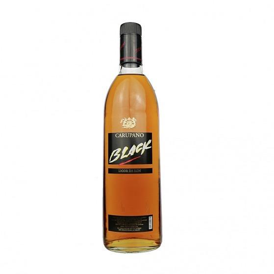 Licor De Ron Seco Carupano Black Caja 12 Botellas 0.75 L