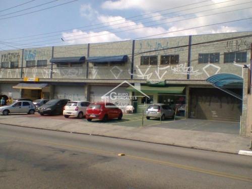 Imagem 1 de 17 de Salão Comercial Para Locação No Bairro Sapopemba, Com 2 Andares, 2 Entradas,  4 Vagas, 120 M² - Código: 3571