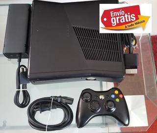 Xbox360 Slim 500gb Rgh 90juegos Incluye Control Y Envio!!
