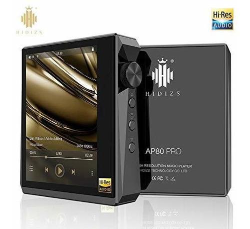 Imagen 1 de 6 de Reproductor De Música Alta Fidelidad Hidizs Ap80 Pro