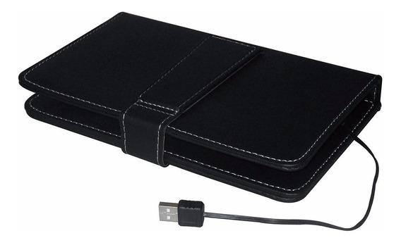 Teclado Em Portugues Case Tablet Universal 7 Polegadas Usb