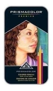 Prismacolor - Conjunto Profissional Lápis 36 Cores