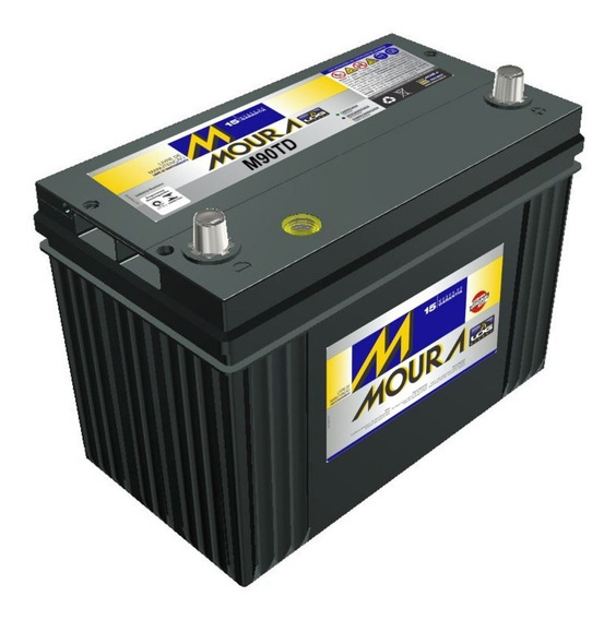 Bateria De Carro Moura 80ah 12v 80rd/re