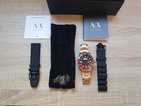 Kit Relógio Armani Exchange Edição Limitada Ax7007/4pn Aço D
