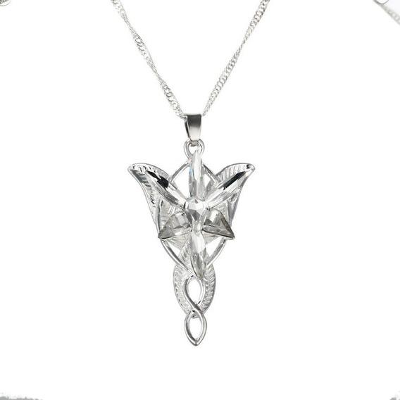 Collar Arwen, El Señor De Los Anillos Estrella Atard Mod.058