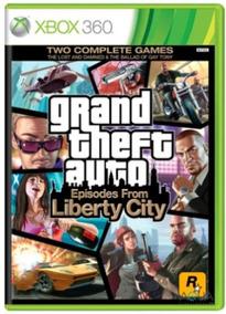 Gta Episodes From Liberty City Xbox 360 Original Frete R$12