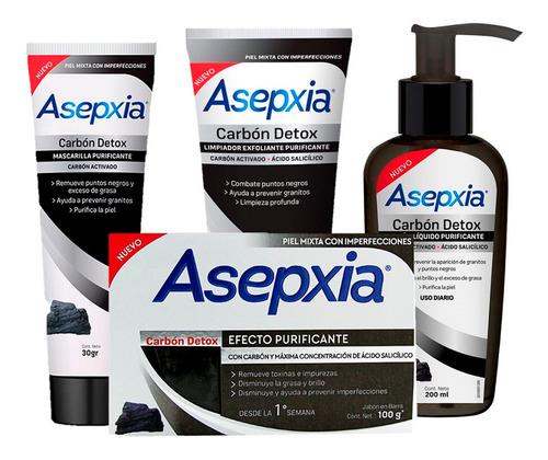 Pack 1 Limpieza Asepxia Carbón