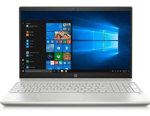 Notebook Hp 15 8ª Ger I7 8gb 256ssd+1t Mx150 4gb 15,6 Touch
