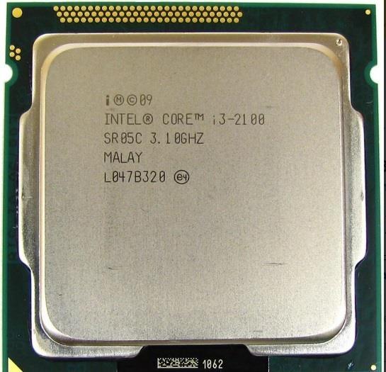 Processador Core I3 2100 Lga 1155 3.10 Ghz Com Cooler Intel