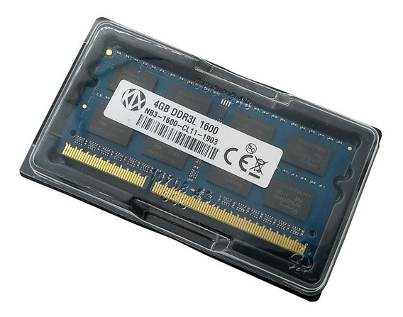 Memoria Kalex 4gb Notebook Ddr3 Pc3l 12800s 1600mhz
