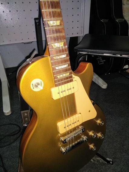 Gibson Les Paul Americana Goldtop Tribute P90 Zerada(trocas)
