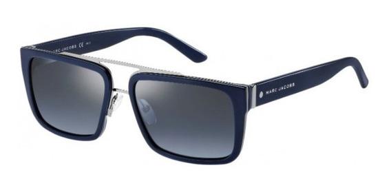 Lentes Gafas De Sol Marc Jacobs 57/s Azul Hombre 56-17-145