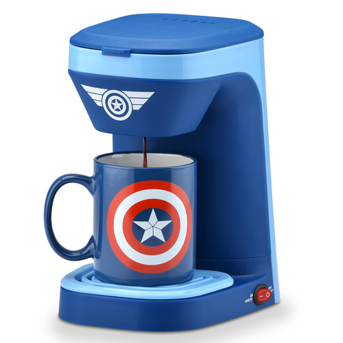 Cafetera De 1 Servicio Capitán América Marvel