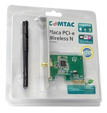 Placa Pci-express Wireless N 150mbps Comtac Wn9213