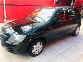 Chevrolet Celta 2012 Preto Flex