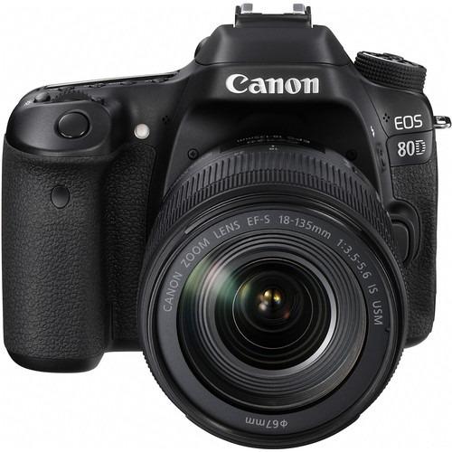 Câmera Canon Eos 80d Dslr Com Lente 18-135mm