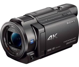 Videocamara Sony 4k Wifi Fdr Ax33 Profesional -20% Descuento