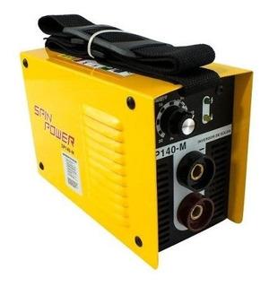 Máquina Inversor De Solda 140a 220volts Sp140m Spin Power