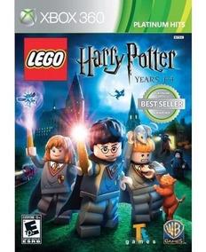 Lego Harry Potter Years 1-4 Xbox360 Mídia Física Lacrado