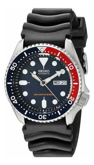 Relógio Masculino Seiko Skx009k1 Borracha