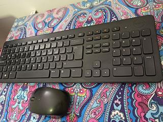 Dell Original Teclado Inalambrico Y Mouse Km632 - Liquido
