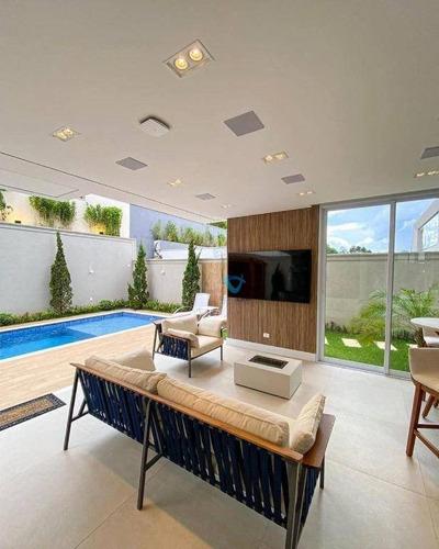 Casa Com 5 Dormitórios À Venda, 460 M² Por R$ 3.605.000,00 - Residencial Itahyê (alphaville) - Santana De Parnaíba/sp - Ca1576