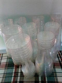 Copas De Champagne Plásticas Transparente