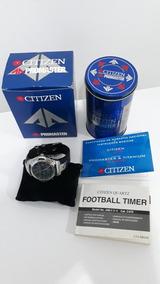 Relógio Citizen Footbal Timer, Raridade . Entrega Em Mãos .