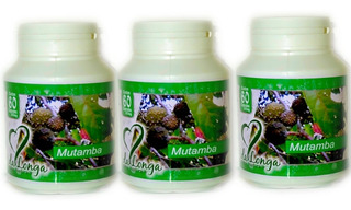 Mutamba Tocantins 100% Natural Kit 24 Potes Em Capsulas
