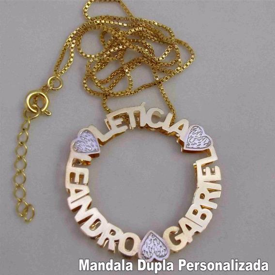 Mandala Dupla Personalizada