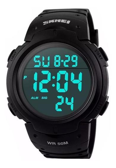 Relógio Masculino Esportivo 5atm 50m Skmei Digital 1068 Oel