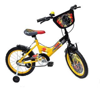 Bicicleta Bmx Rodado 14 Zeta - Pioneer - Ind. Arg.