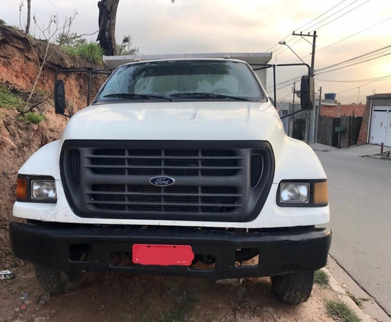 Caminhão Com Caçamba Ford F12000