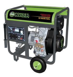 Generador A Diesel 110/220v 6500 Kw Forest Garden