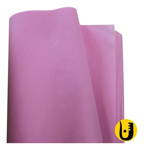 Papel De Seda 48 X 30 Cm Pacote Com 200  - Rosa Claro
