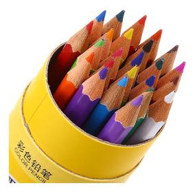 24 Lápices De Colores Dibujantes Zibom