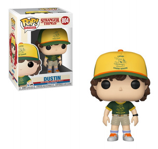 Stranger Things - Funko Pop - Dustin - Temp. 3 Original