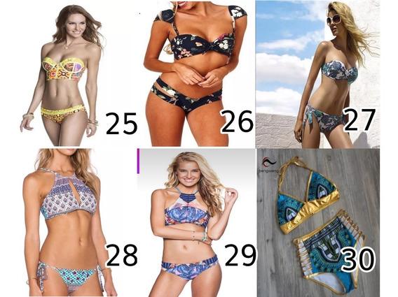 Lote Traje Baño Bikini 10 Pzs Mayoreo