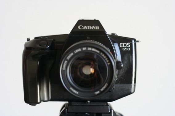 Câmera Canon Eos 650 Sem Lente. Testada E Funcionando.