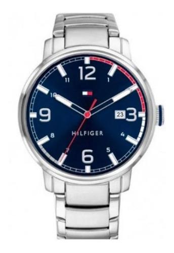 Reloj Tommy Hilfiger Hombre De Acero Azul 1791754