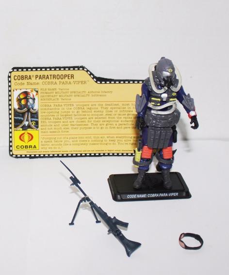 Cobra Para-viper Gi Joe Action Figure Cobra Paratrooper